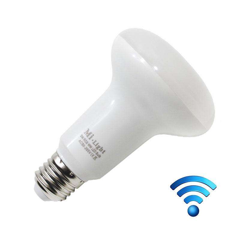 Bombilla led PAR30 WiFi E27 Bulb 9W RGB+Blanco cálido, , Regulable